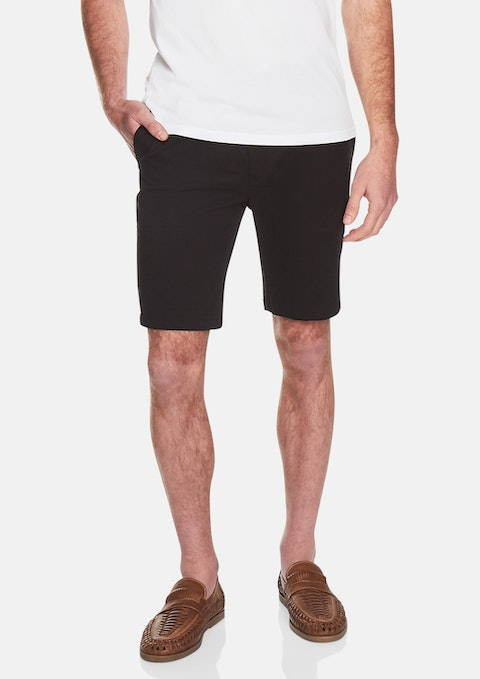 Black Harper Stretch Short
