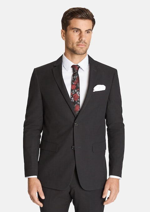 Black Roger 2  Button Suit