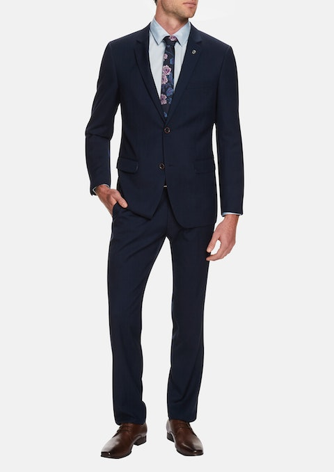 Navy Roosevelt 2 Button Suit