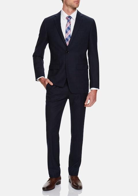 Midnight Cleveland Textured 2 Button Suit