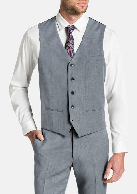 Silver Brosnan Stretch Waistcoat