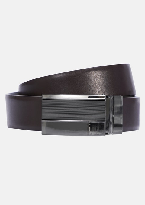 Black/brown Mortimer Reversible Belt