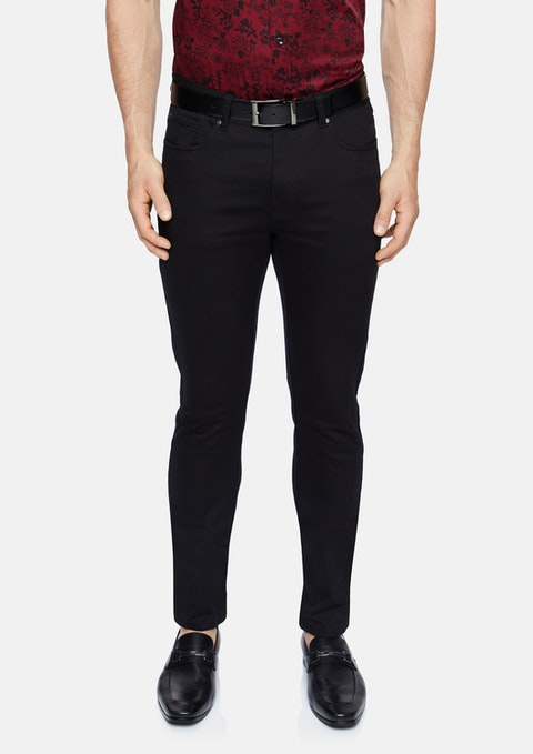 Black Ultimate Slim Chino