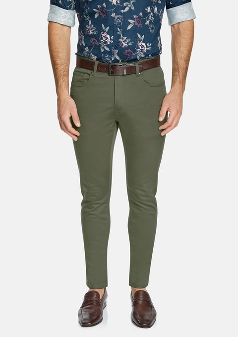 Khaki Ultimate Slim Chino