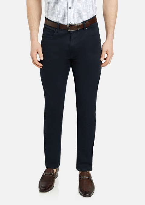 Navy Ultimate Slim Chino
