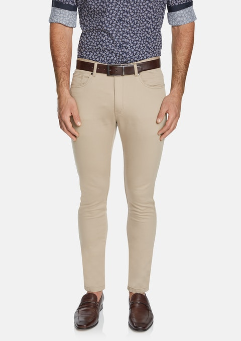 Sand Ultimate Slim Chino