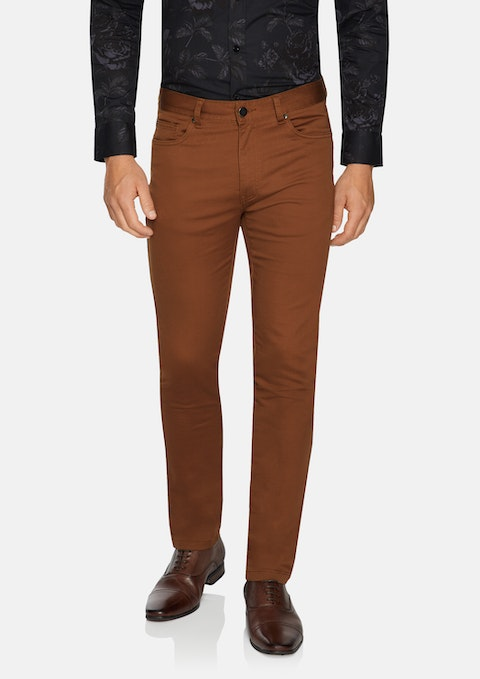 Tobacco Ultimate Slim Chino