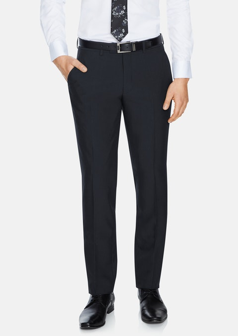 Charcoal Reed Stretch Pant