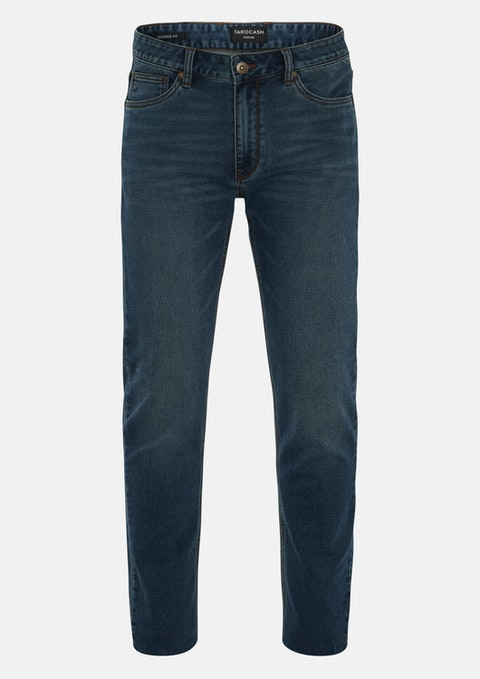 Blue Slayer Tapered Stretch Jean