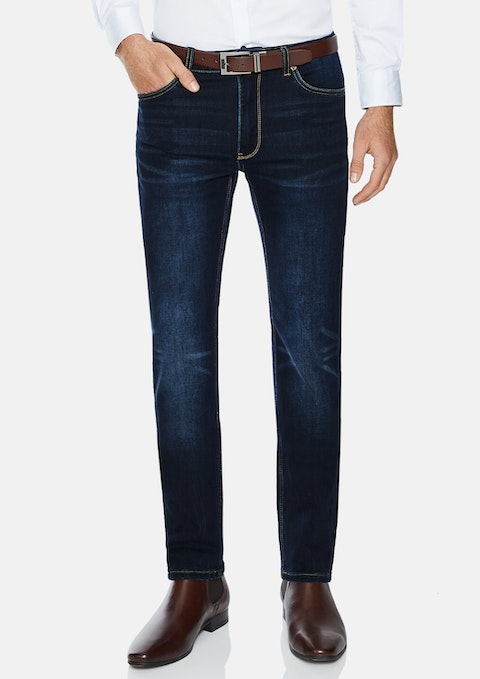 Rinse Slayer Tapered Stretch Jean