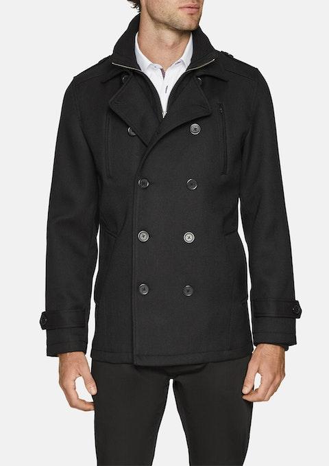 Black Leeds Db Coat