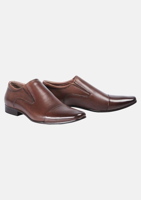Brown Whiskey Slip On Shoe