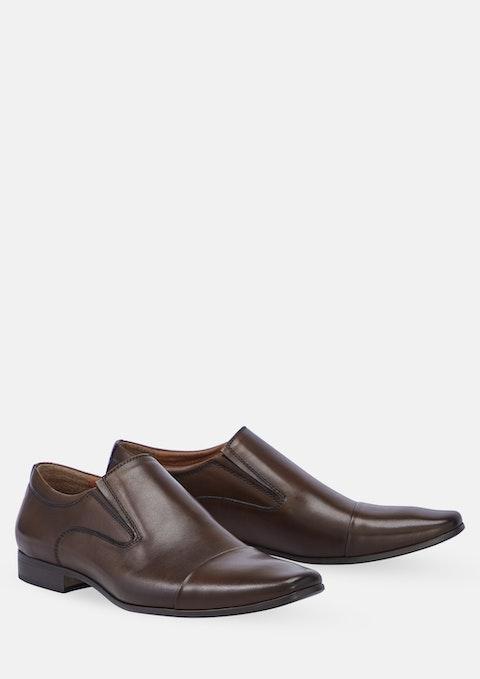 Cognac Whiskey Slip On Shoe