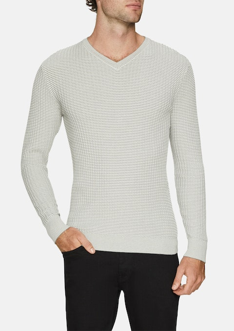 Ice Mason Textured Knit