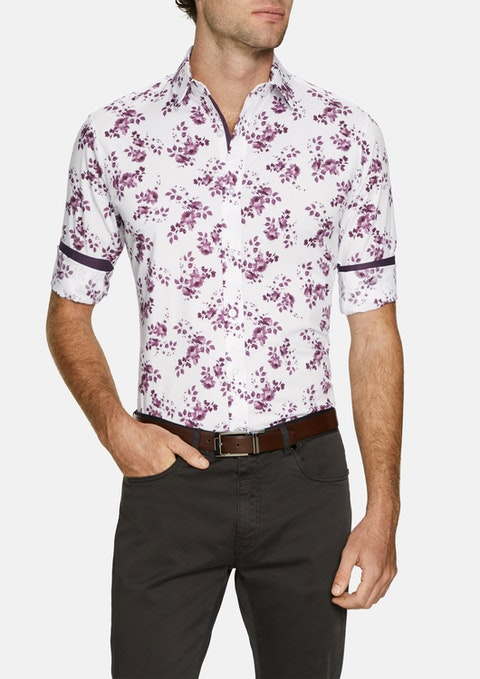 Berry Crosby  Stretch Slim Shirt