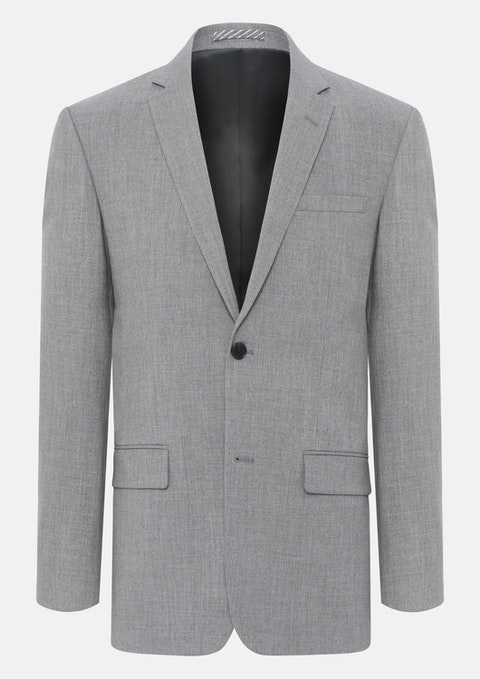 Grey Slater  Stretch 2 Button Suit