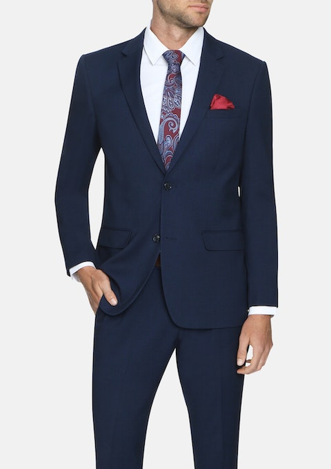 Navy Markle Stretch 2 Button Suit
