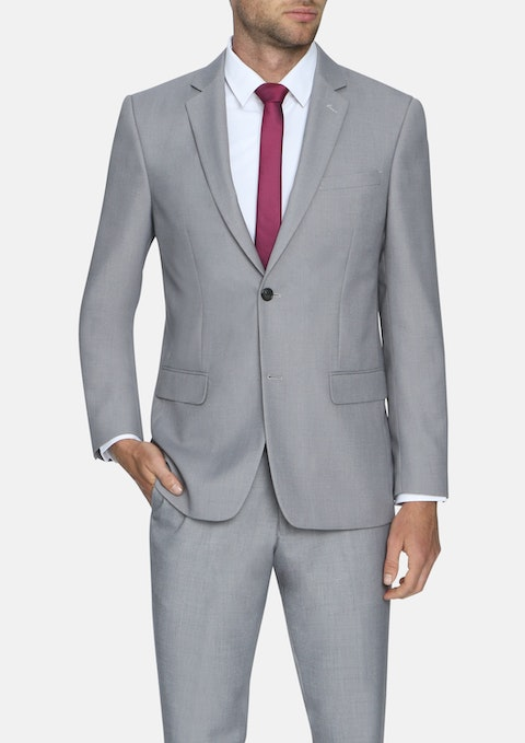 Silver Sandler 2 Button Suit
