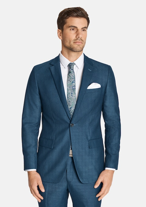 Blue Harry Slim 1 Button Suit