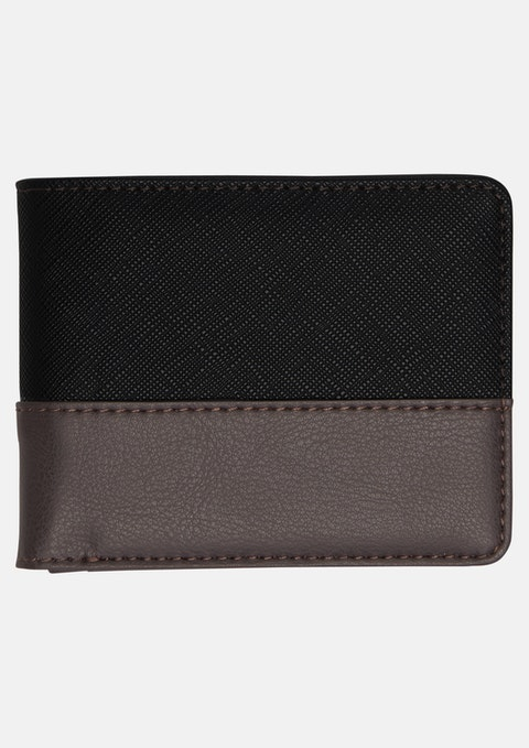 Black 2-tone Wallet
