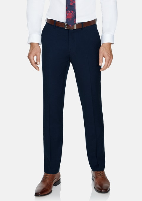 Navy Louis Stretch Pant