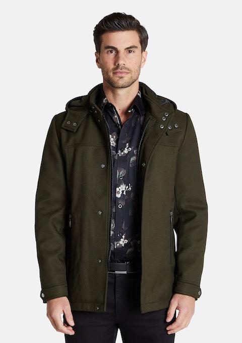 Khaki Aberdeen Coat
