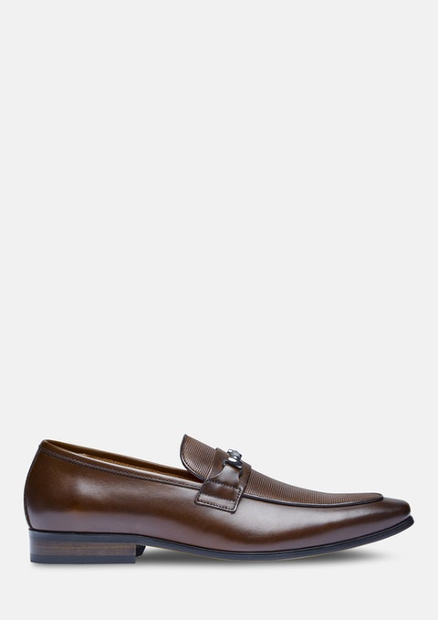 Chocolate Noah Dress Loafer