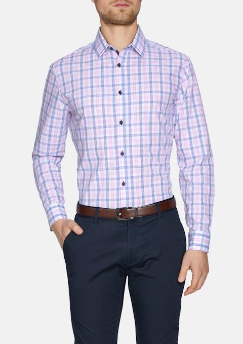 Pink Sprigett Check Shirt