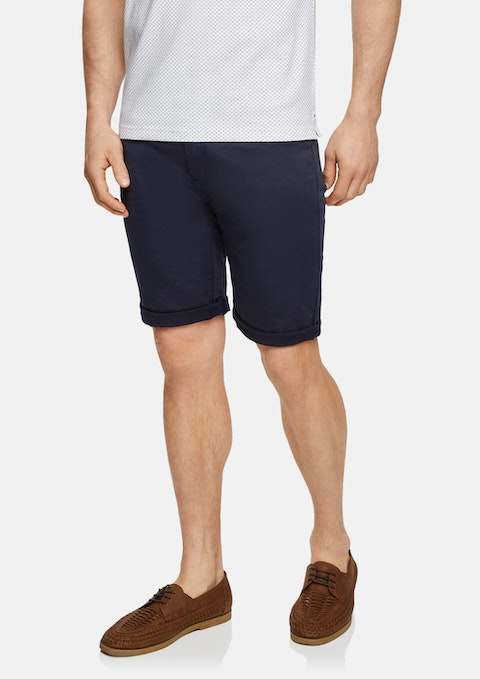 Navy Ulto Slim Short