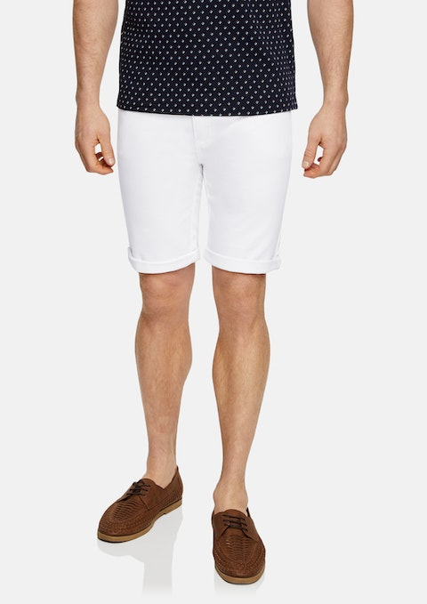 White Ulto Slim Short