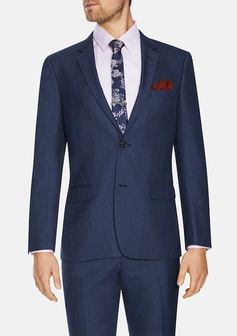 Blue Douglas 2 Button Suit