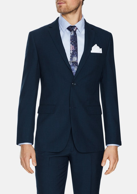 Navy Carrey 2 Button Suit