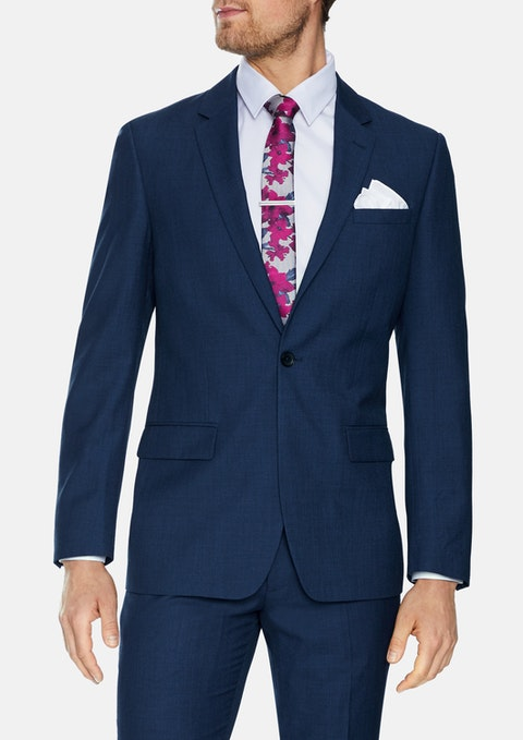 Blue Harrow 1 Button Suit