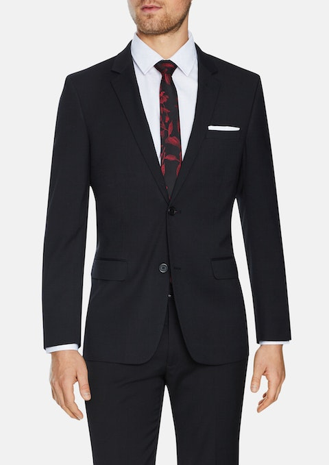 Charcoal Lynch Stretch  2 Button Suit