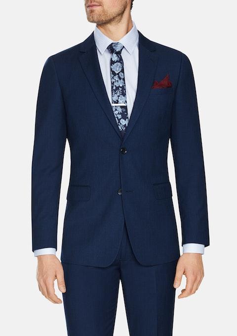 Blue Rochford Slim 2 Button Suit