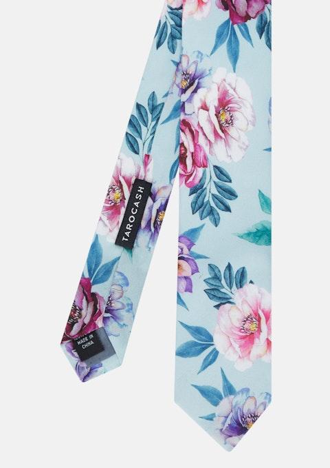 Sky Chester Silk Floral Tie