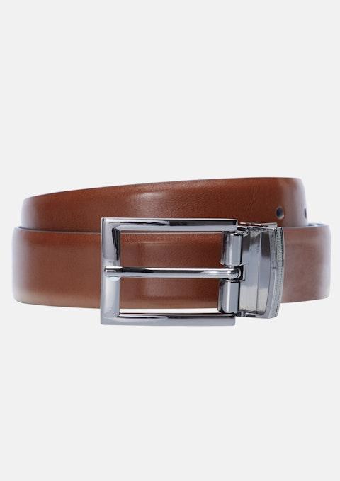 Tan/black Payne Prong Belt