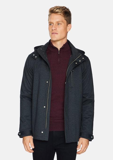 Charcoal Neo Hooded Jacket