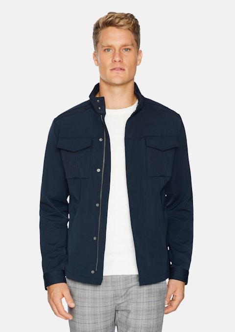 Navy Jackman Zip Jacket