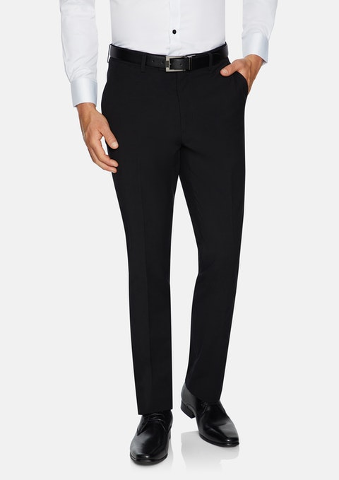 Black Supreme Slim Stretch Pant