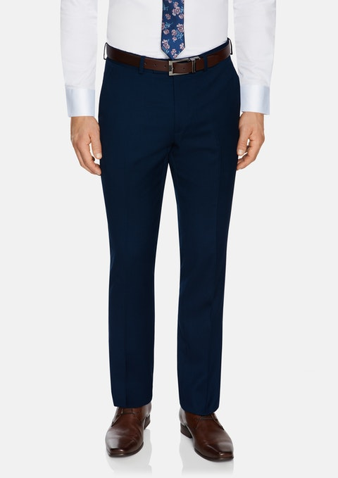 Navy Lachlan Stretch Pant