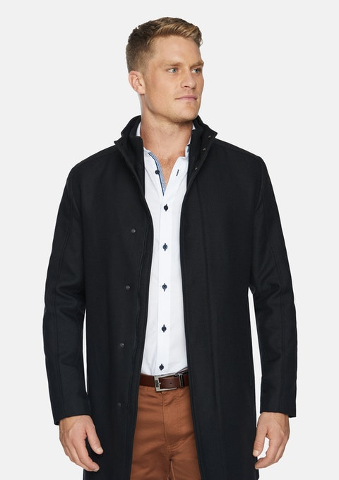 Black Biloxi Coat