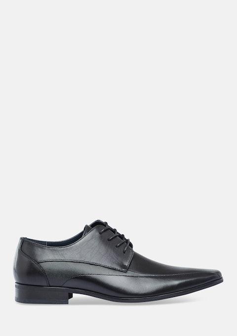 Black Marco Panel Dress Shoe