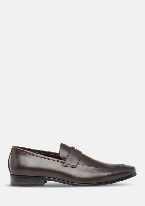 Chocolate Basil Dress Loafer