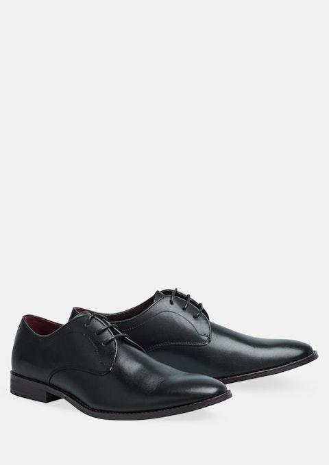Black Sinclair Lace Up Shoe