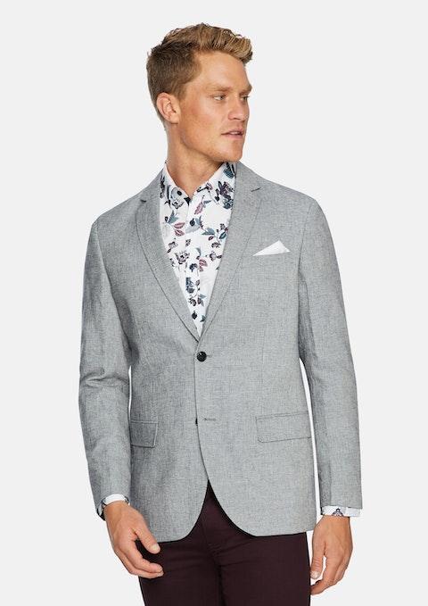 Grey Fraser Linen Blend Blazer