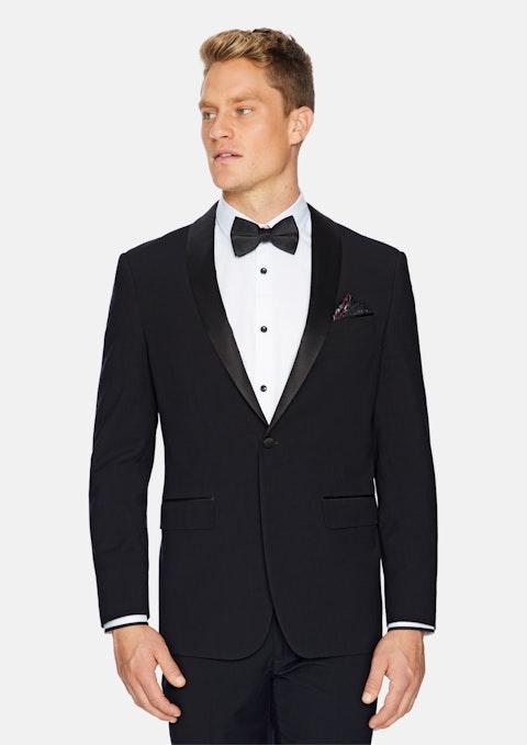 Black Supreme Tuxedo Jacket