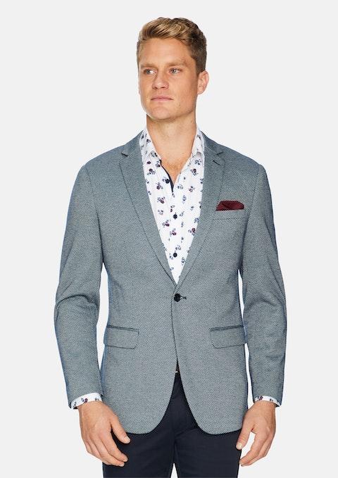 Navy Vermont Textured Blazer