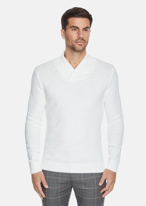 Winter White Jordan Textured Knit