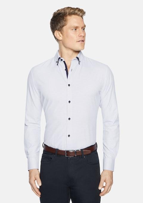 Sky Bayder Slim Textured Shirt